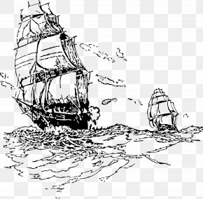 Sail - Sailing Ship Sailor Piracy PNG