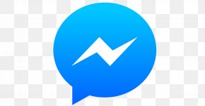 Facebook Messenger Light Blue Logo - Facebook Messenger Monthly Active Users Text Messaging PNG