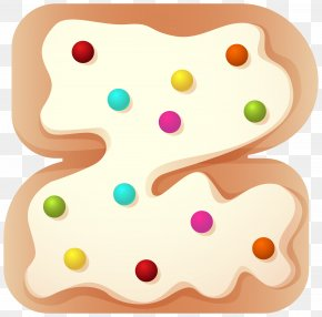 Food And Drink Number Two Clip Art Image - Food Gingerbread Clip Art PNG