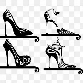 Talon - Sticker Shoe Absatz Clip Art PNG