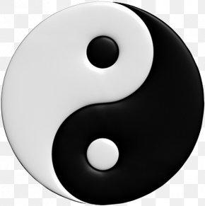 Symbol - Yin And Yang The Book Of Balance And Harmony Symbol Taijitu Taoism PNG