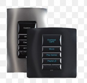 Home Automation - Home Automation Kits Control4 Keypad Electronics Lighting Control System PNG