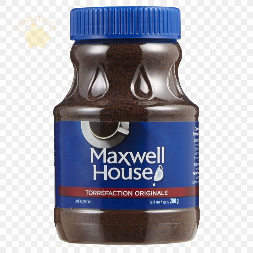 Instant Coffee Maxwell House Cafe Super C Png 1852x1852px