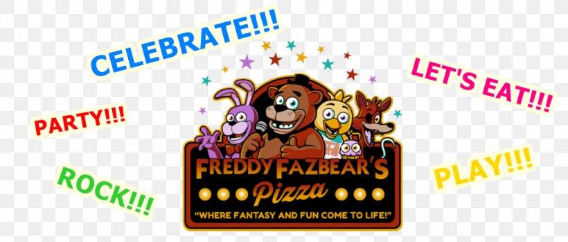 Freddy Fazbear S Pizzeria Simulator Pizza Five Nights At Freddy S 2 Restaurant Logo Png 1024x437px Pizza Advertising