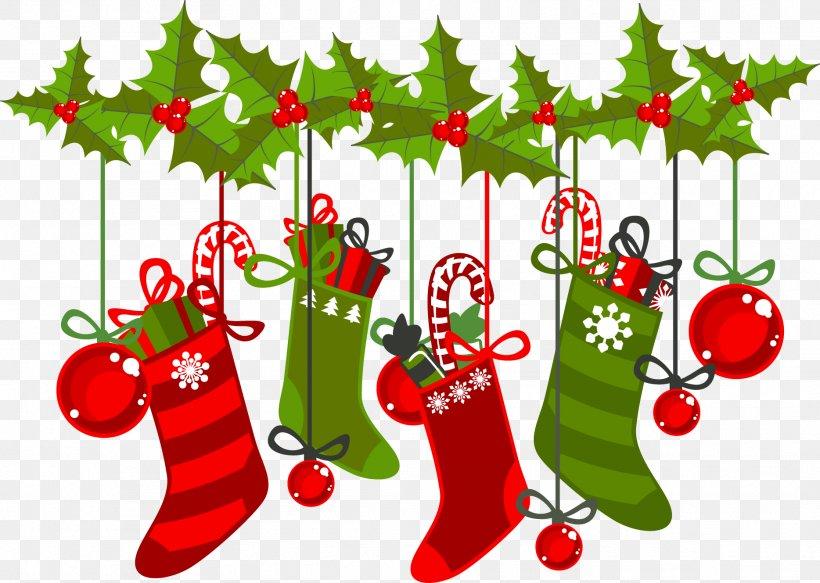 Cartoon Christmas Ornaments Vector Material Png 1868x1329px Santa Claus Art Branch Christmas Christmas Card Download Free