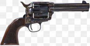 Handgun - Colt Single Action Army Revolver Firearm .45 Colt Pistol PNG