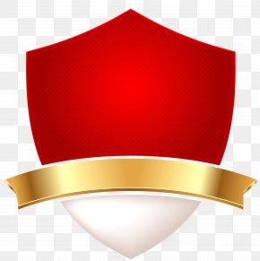 Red Simple Shield Decorative Pattern - Shield Download Icon PNG