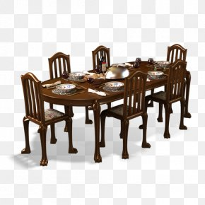 Dining Room - Table Furniture Dining Room Chair PNG