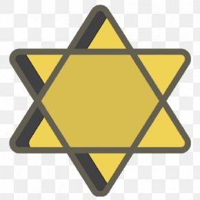The Holocaust Yellow Badge Star Of David Jewish People Star Polygons In Art And Culture PNG