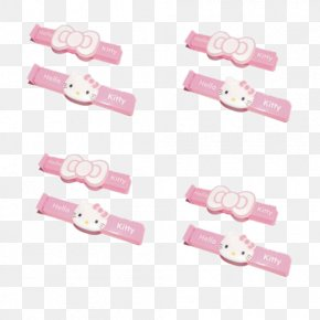 No Mouth Cat Pink Seal Clip - Hello Kitty Cat PNG