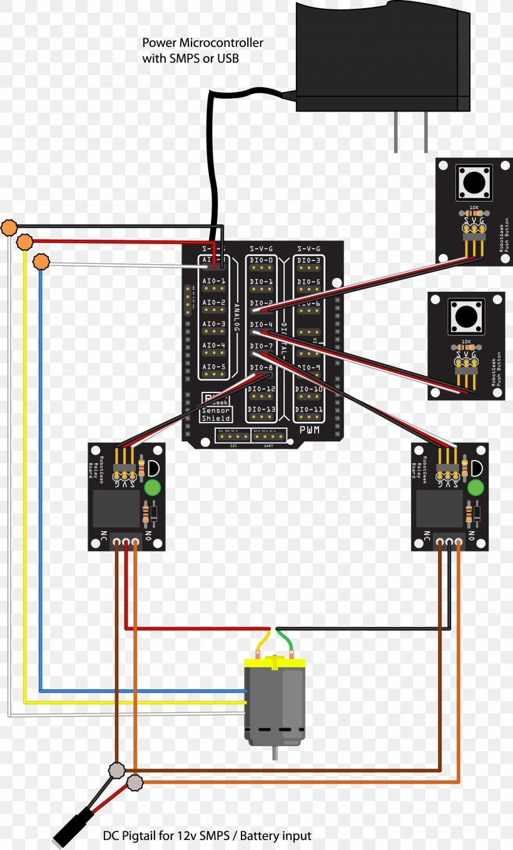 Linear Actuator Arduino Wiring Diagram Relay Png 2000x3313px Linear Actuator Actuator Arduino Area Circuit Diagram Download