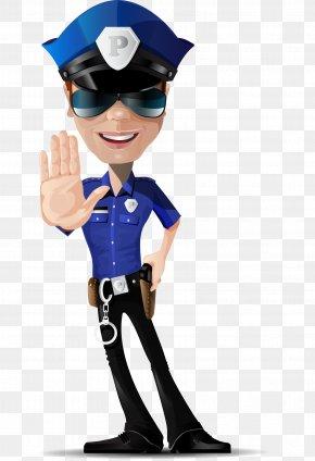 Vector Police - Police Officer Euclidean Vector Police Car PNG
