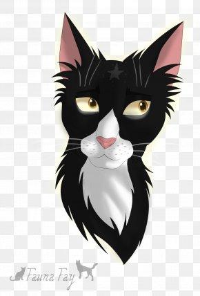 Kitten - Kitten Whiskers Black Cat Domestic Short-haired Cat PNG