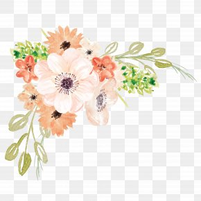 Watercolor Flowers - Watercolor Painting Flower PNG
