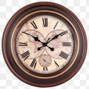 Vintage Wall Clock - Clock Wall Window Antique PNG