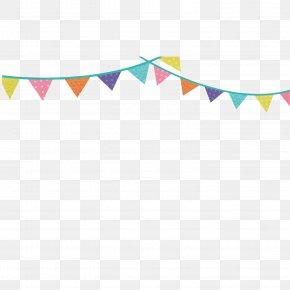 Vector Color Festivals Triangle Flag Hanging Flag Decoration - Flag Vecteur Euclidean Vector PNG