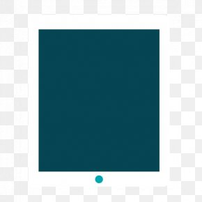 Vector Creative Flat IPAD - Brand Square Text Picture Frame PNG