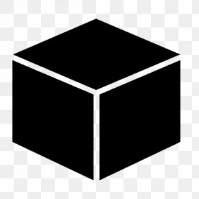Cube Transparent Image - Cube Three-dimensional Space Icon PNG