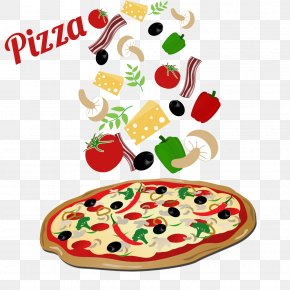 Pizza - Pizza Pizza Italian Cuisine Pepperoni PNG