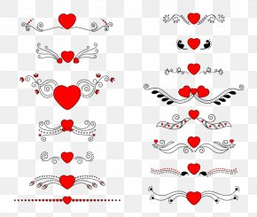 Wedding Element Vector - Heart Euclidean Vector Clip Art PNG