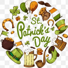 St. Patrick's Day Poster Design Image - Ireland Saint Patrick's Day Festival Illustration PNG