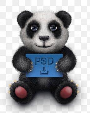 Panda - Giant Panda Bear Cuteness Icon PNG