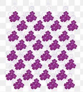 Curly Purple Flower Vector - Window Blind T-shirt Euclidean Vector PNG