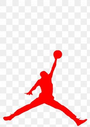 Air Clipart - Jumpman Air Jordan Logo Decal T-shirt PNG