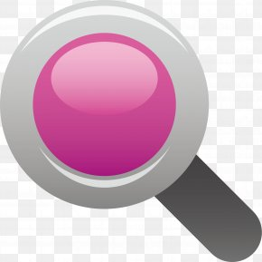 Magnifying Glass Vector Element - Euclidean Vector Magnifying Glass PNG