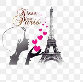 Eiffel Tower - Eiffel Tower Illustration Graphic Design PNG