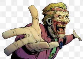 Joker - Joker Alfred Pennyworth Batman Vol. 3: Death Of The Family Comic Book PNG