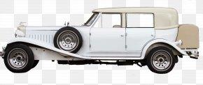 White Vintage Car - Vintage Car Antique Car PNG