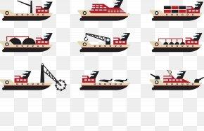 Vessel Jiugong Map - Ship Tugboat Maritime Transport PNG