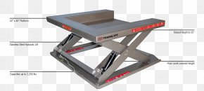 Low Table - Lift Table Hydraulics Stainless Steel Pallet Desk PNG