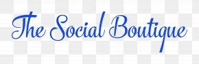 Social - The Social Boutique Logo Digital Marketing PNG