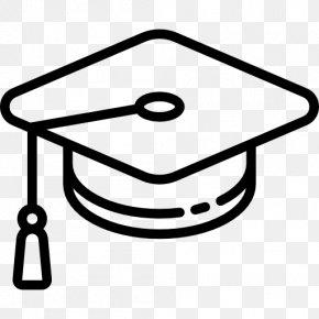 Cap - Square Academic Cap Graduation Ceremony Academic Dress Student PNG