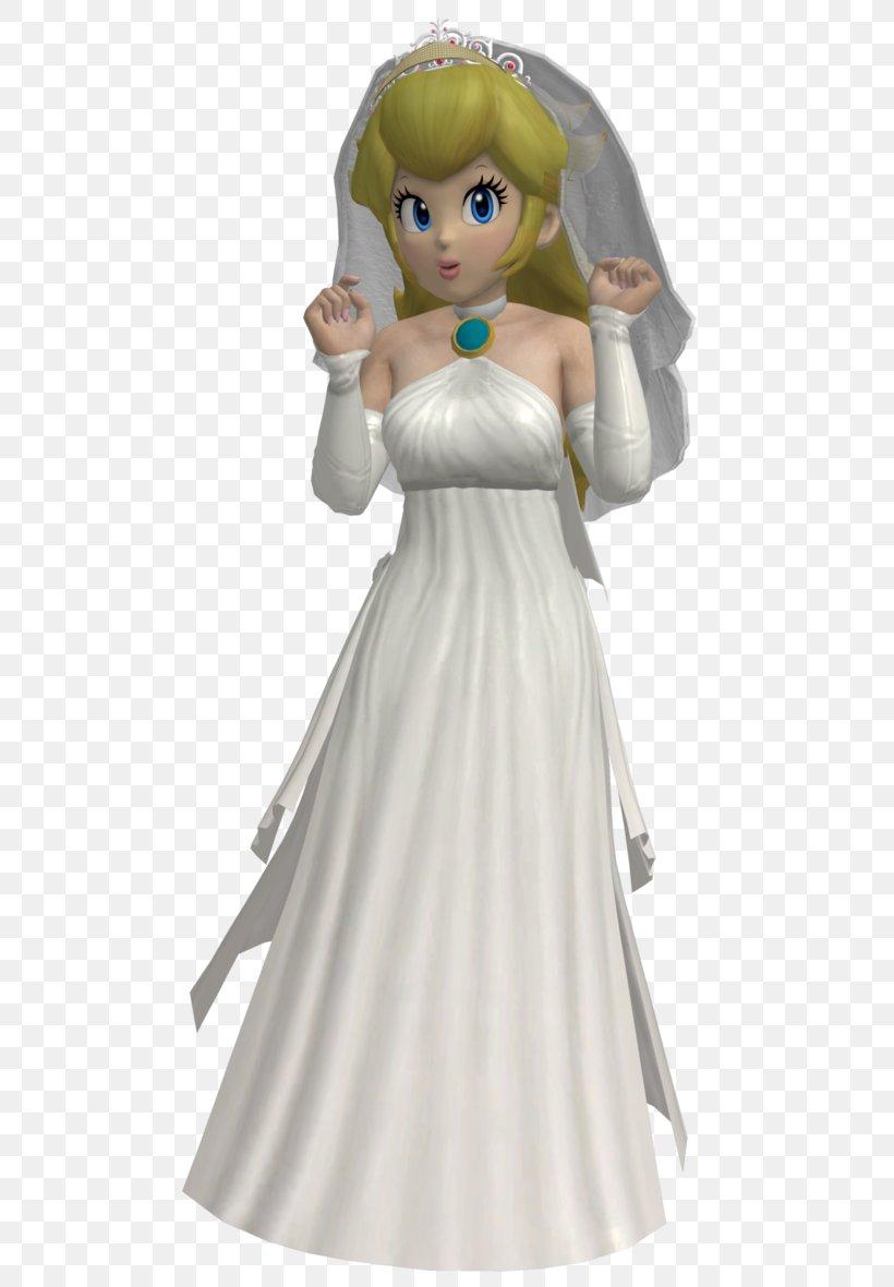 Super Mario Odyssey Princess Peach Wedding Dress Png