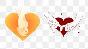 Hand Heart - Valentine's Day Love Heart PNG
