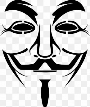 Mask - Guy Fawkes Mask Anonymous Clip Art PNG