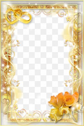 Wedding Frame - Wedding Invitation Picture Frame PNG