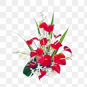 Bouquet Of Flowers - Hawaii Unexpressed Feelings Promotion Greeting & Note Cards PNG