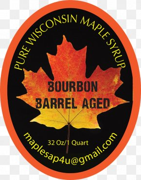 Label Barrel - Sugar Maple Leaf Logo Font PNG