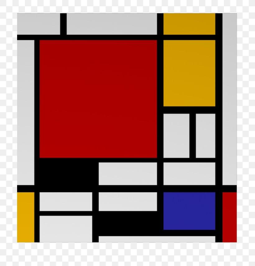 Resultado de imagen de composition ii in red blue and yellow