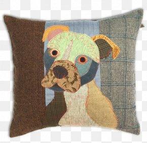 Cat - Cushion Bulldog Cat Dog Breed Throw Pillows PNG