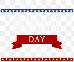 Happy Memorial Day Transparent Clip Art Image - Memorial Day Clip Art PNG