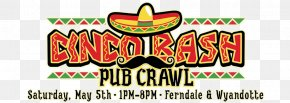 5th May - Beer Ferndale Cornhole Pub Crawl Wyandotte PNG