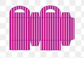 Striped Gift Box - Paper Box Gift Bag Image PNG