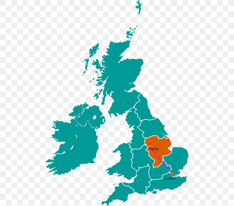 Warrington British Isles Vector Map Blank Map, PNG ...