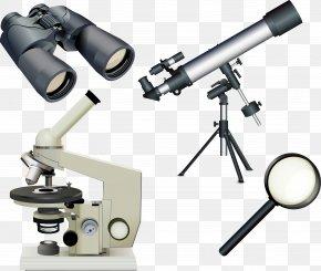 Vector Microscope - Microscope Telescope Magnifying Glass Euclidean Vector PNG