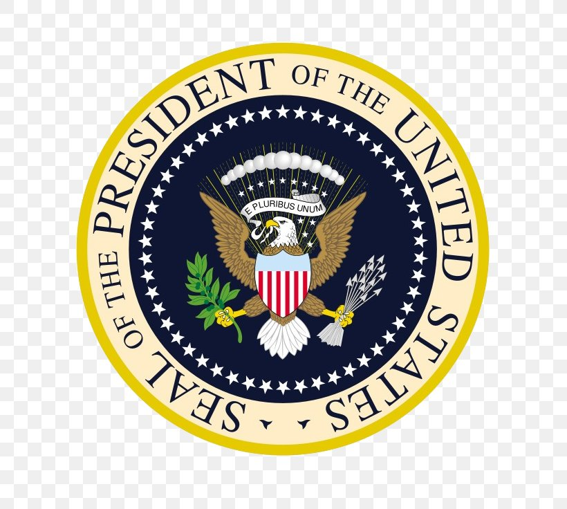 Seal Of The President Of The United States Federal Government Of The United States Great Seal Of The United States, PNG, 736x736px, United States, Badge, Barack Obama, Brand, Crest Download Free